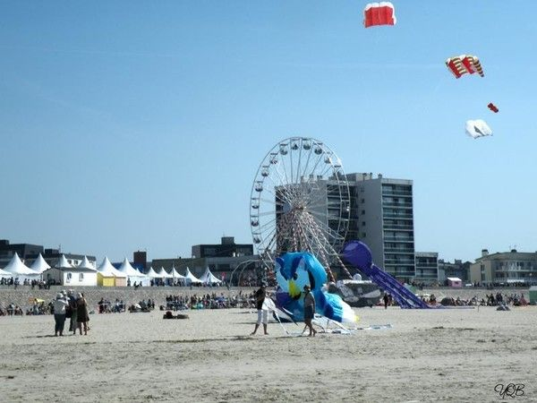 les rencontres internationales de cerfs volants de berck sur mer